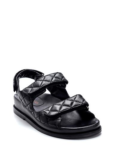 Derimod Kadın Sandalet (09701) Casual Siyah